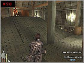 Zszedłem po schodkach na dół i za budowlą przypominającą zadaszenie skręciłem w lewo - [PART I] Chapter II - Max Payne 2: The Fall Of Max Payne - poradnik do gry