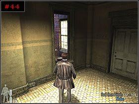 Przeskoczyłem na zewnątrz i momentalnie przeszedłem na gzyms z prawej - [PART I] Chapter IV - Max Payne 2: The Fall Of Max Payne - poradnik do gry