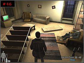 Niezwłocznie skorzystałem z otwartego okna, by wyjść na zewnątrz i dalej po gzymsie aż do kolejnego korytarza - [PART I] Chapter IV - Max Payne 2: The Fall Of Max Payne - poradnik do gry