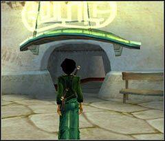 Ruszaj w stronę niezbadanej części dzielnicy (jest pilnowana przez dwóch żołnierzy) - 18 Hillys - Beyond Good & Evil - poradnik do gry