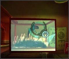 Podejdź do zbiornika wodnego (screen) i zrób zdjęcie pływającej w nim rybce, następnie porozmawiaj ze sprzedawcą - 18 Hillys - Beyond Good & Evil - poradnik do gry