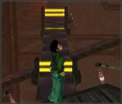 Uważaj na taśmach a już w szczególnoście na tych z laserami (screen) - 19 Hillys - Beyond Good & Evil - poradnik do gry
