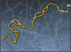 Tę mapę można krótko streścić - szybka jazda z okazjonalnym deszczem - Trasy cz.1 - Need for Speed: Porsche 2000 - poradnik do gry
