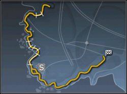 Ta mapa cechuje się tym, iż jak długa i szeroka, tak niemalże non-stop jedziesz z zabójczą prędkością - Trasy cz.2 - Need for Speed: Porsche 2000 - poradnik do gry