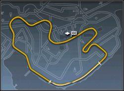 Jedyną trudnością na tej mapie jest część z nawrotami - może Ci ona przysporzyć nieco kłopotów, ale po kilku przejazdach powinieneś dojść do wprawy - Trasy cz.2 - Need for Speed: Porsche 2000 - poradnik do gry