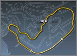 Również niezbyt trudna mapa - Trasy cz.2 - Need for Speed: Porsche 2000 - poradnik do gry