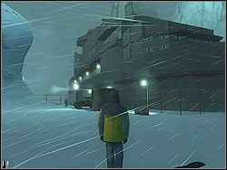 Tam zostaw swojego znajomego i od razu skieruj si� w lewo - The Bjarkhov Bomb - Opis (1) - Misja 3 - Hitman: Kontrakty - poradnik do gry