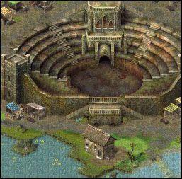 Zanim wejdziesz na arenę, otwórz pobliską skrzynię - Akt I Gladiator - Misje 01-04 - Sacred - poradnik do gry