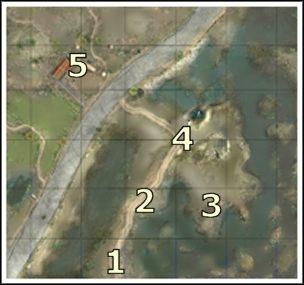 Z punktu, w którym rozpoczynamy [1], mamy niedaleko do pierwszych celów - Misja 3 - Miejsce katastrofy - Projekt Ameryka - Soldiers: Ludzie Honoru - poradnik do gry