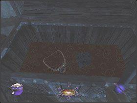 Na drugim pi�trze spotkasz cz�owieka siedz�cego przy biurku, kt�ry b�dzie w posiadaniu klucza, kt�rym mo�esz si� zainteresowa� - Dzie� pierwszy [Opis 6] - Miasto - Thief: Deadly Shadows - poradnik do gry