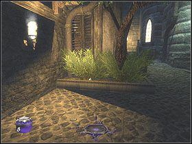 Trafisz do miejsca pilnowanego przez stra�nika z �ukiem - Dzie� pierwszy [Opis 7] - Miasto - Thief: Deadly Shadows - poradnik do gry