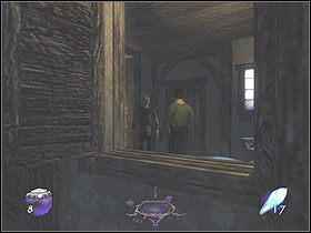 Wr�� z powrotem na ulic� i wejd� w drzwi dok�adnie na przeciwko wej�cia - Dzie� pierwszy [Opis 7] - Miasto - Thief: Deadly Shadows - poradnik do gry