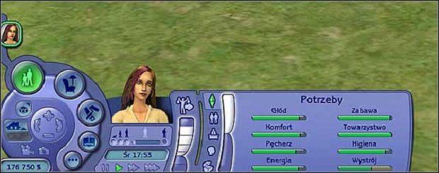 Wskaźnik potrzeb jest odzwierciedleniem ogólnego nastroju Sima - Potrzeby - The Sims 2 - Pełna Kolekcja - poradniki