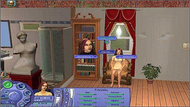 Technika- dzięki jej rozwinięciu nasz Sim znacznie szybciej upora się ze wszystkimi awariami sprzętu w swoim domu (przez co z pewnością zaoszczędzi - nie trzeba będzie za każdym razem wzywać do tego majstra) - Umiejętności - The Sims 2 - Pełna Kolekcja - poradniki
