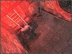 Gdy wr�cisz na dworzec, skorzystaj z pobliskiej drabinki - Podziemne przej�cie (6) - Etap 2 - Silent Hill 4: The Room - poradnik do gry