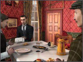 [01] - Baker Street - Dzień 2 - Sherlock Holmes i tajemnica srebrnego kolczyka - poradnik do gry