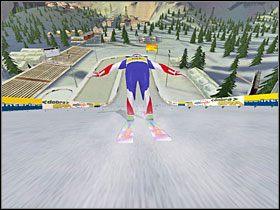 Faza 5: Pora na lądowanie - Skok - sterowanie, porady - Skoki narciarskie 2005 - poradnik do gry
