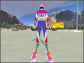 2 - Skok - sterowanie, porady - Skoki narciarskie 2005 - poradnik do gry