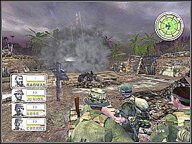 Wychodzimy na teren, gdzie w pierwszej misji mieliśmy trening grupowy - Misja 3 Tet Offensive [01] - Conflict: Vietnam - poradnik do gry