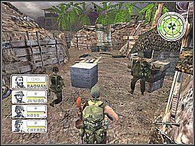Tutaj napotkacie lekki opór wroga, ale wszystkich spokojnie można pokonać - Misja 3 Tet Offensive [02] - Conflict: Vietnam - poradnik do gry
