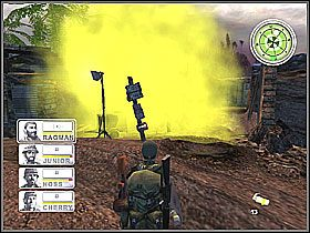 Dochodzimy do centrum bazy - Misja 3 Tet Offensive [03] - Conflict: Vietnam - poradnik do gry