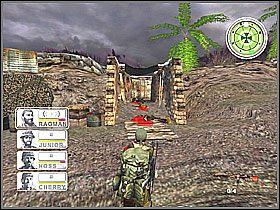 Taką czynność z oznaczeniem dymnym musimy wykonać w czterech miejscach - Misja 3 Tet Offensive [03] - Conflict: Vietnam - poradnik do gry