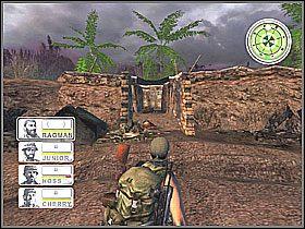 Gdy miejsce zostanie oznaczone, od razu należy jak najszybciej się odsunąć, gdyż inaczej sami możemy odczuć siłę ognia pochodzącą z helikoptera - Misja 3 Tet Offensive [03] - Conflict: Vietnam - poradnik do gry