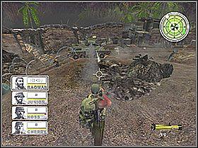 Ostatnim celem tej misji jest zniszczenie czołgu, który wdarł się do bazy - Misja 3 Tet Offensive [03] - Conflict: Vietnam - poradnik do gry