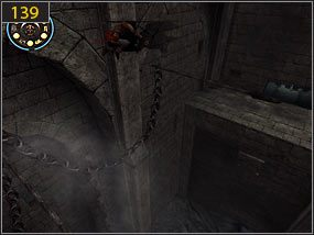 2 - Południowe przejście - teraźniejszość (3) - Mroczna dłoń losu - Prince of Persia: Dusza Wojownika - poradnik do gry
