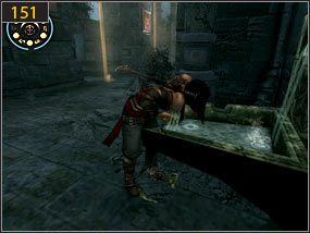 1 - Wejście do fortecy - przeszłość - Mroczna dłoń losu - Prince of Persia: Dusza Wojownika - poradnik do gry