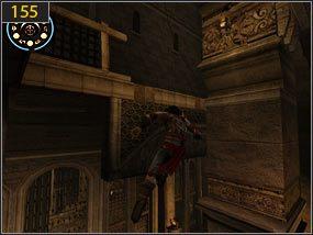 3 - Wejście do fortecy - przeszłość - Mroczna dłoń losu - Prince of Persia: Dusza Wojownika - poradnik do gry