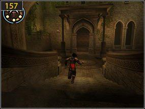 4 - Wejście do fortecy - przeszłość - Mroczna dłoń losu - Prince of Persia: Dusza Wojownika - poradnik do gry