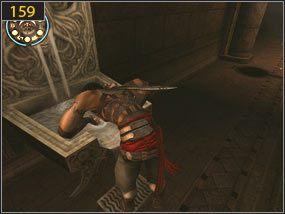 5 - Wejście do fortecy - przeszłość - Mroczna dłoń losu - Prince of Persia: Dusza Wojownika - poradnik do gry