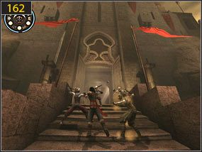 zaprowadzą nas do twierdzy [161] - Wejście do fortecy - przeszłość - Mroczna dłoń losu - Prince of Persia: Dusza Wojownika - poradnik do gry