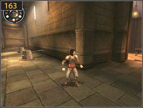 1 - Pomocna dłoń - Hol centralny - przeszłość - Prince of Persia: Dusza Wojownika - poradnik do gry