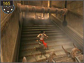 2 - Pomocna dłoń - Hol centralny - przeszłość - Prince of Persia: Dusza Wojownika - poradnik do gry