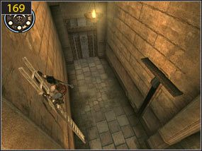 4 - Pomocna dłoń - Hol centralny - przeszłość - Prince of Persia: Dusza Wojownika - poradnik do gry