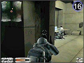 Biegnij korytarzem, jak pokazuje to obrazek [15] - Misja 2-B cz.3 - Gorky 02: Aurora Watching - poradnik do gry