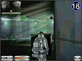 Potem idź do [17] - najpierw otwórz drzwi i zabij stojącego strażnika, a później tego przy biurku - Misja 2-B cz.3 - Gorky 02: Aurora Watching - poradnik do gry