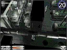 Potem idź do [19] i zabij nożem śpiącego strażnika, zabierz mu amunicję do pistoletu maszynowego - Misja 2-B cz.3 - Gorky 02: Aurora Watching - poradnik do gry