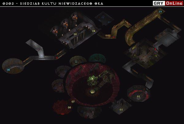 01 - Droga do Kanałów - 0202 - Siedziba Kultu - Baldurs Gate II: Cienie Amn - opis lokacji - poradnik do gry