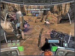 Przy następnym podobnym stanowisku wykorzystaj także snajpera - Territory - Kampania I - Star Wars: Republic Commando - poradnik do gry