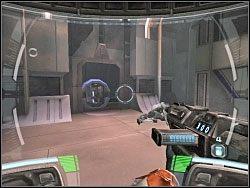 Oto kolejny tunel, w którego czeluści musisz się zanurzyć - Infiltration Of The Coreship - Kampania I - Star Wars: Republic Commando - poradnik do gry