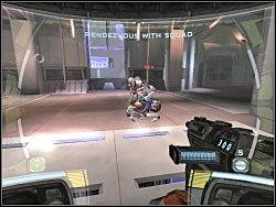 Teraz musisz po kolei przyłączać członków grupy - Waking The Giant - Kampania I - Star Wars: Republic Commando - poradnik do gry