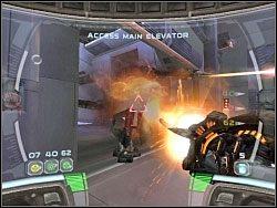 Poziom kończy walka z kolejnym Spider Droidem - Waking The Giant - Kampania I - Star Wars: Republic Commando - poradnik do gry