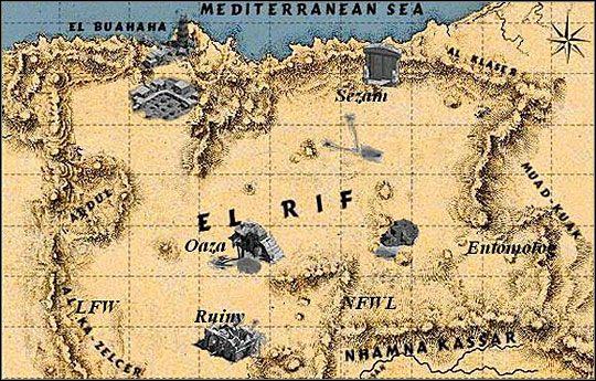 1 - [AKT I] Mapa wybrzeża Afryki - Jak rozpętałem II wojnę światową ... - poradnik do gry