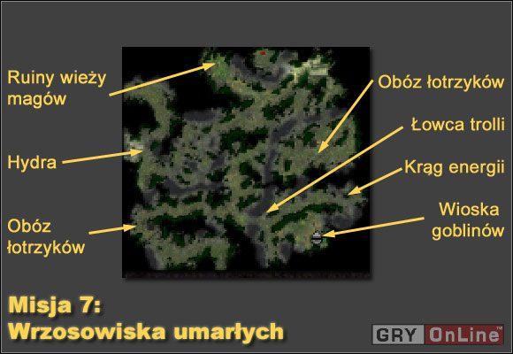 Udajmy się w lewo aż dojdziemy do obozu łotrzyków - Misja 7 - Kampania Cesarstwa - Armie Exigo - poradnik do gry