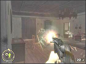 Wyjdź z budynku i skieruj się w lewo - Objective XYZ (4) - Rozdział 5 - Brothers in Arms: Road to Hill 30 - poradnik do gry