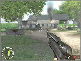 Po zakończeniu walk skieruj się do ciężarówki, przy której stoją pozostali członkowie drużyny - Objective XYZ (4) - Rozdział 5 - Brothers in Arms: Road to Hill 30 - poradnik do gry