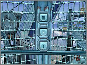 Obszedłem rampę dookoła, aż znalazłem sygnalizator z niebieskim światłem - 12 MARU cz.3 - Sentinel: Strażnik Grobowca - poradnik do gry
